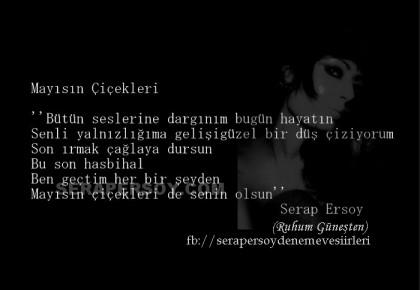Serap Ersoy ''Mayısın Çiçekleri'' (Ruhum Güneşten) www.serapersoy.com
