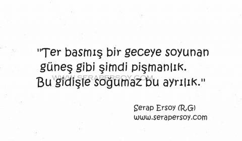 Serap Ersoy - Soğumaz Bu Ayrılık - serapersoy.com