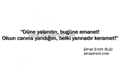 Serap Ersoy - Düne Yalandın (serapersoy.com)