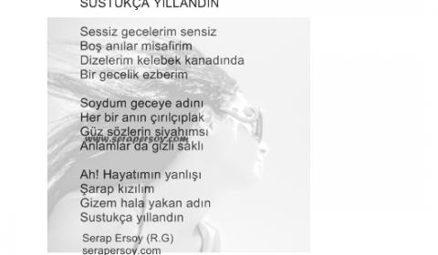 Serap Ersoy - Sustukça Yıllandın (serapersoy.com)
