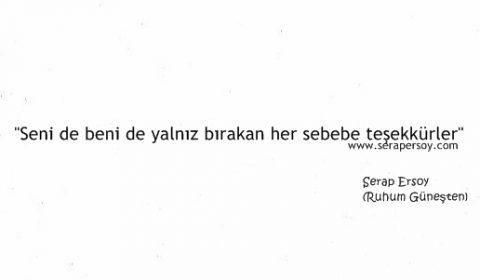Serap Ersoy - Teşekkürler (serapersoy.com)